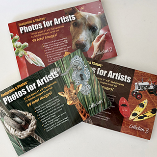 Photos for Artist three pack for collage artists