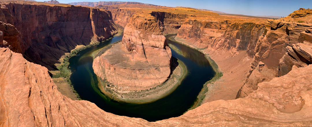 Horseshoe Bend as seen from the viewpoint
