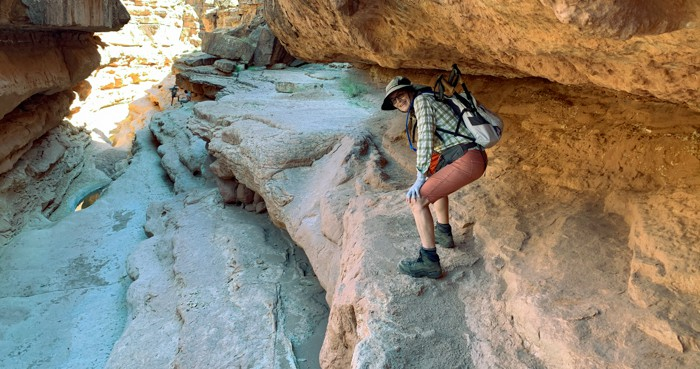 Karin in Cathedral Canyon